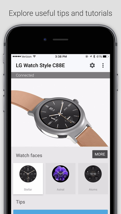 Android Wear Screenshot