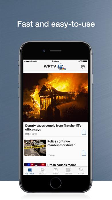 WPTV NewsChannel 5 in West Palm Beach Screenshot