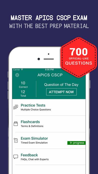 CSCP Exam Simulation Software