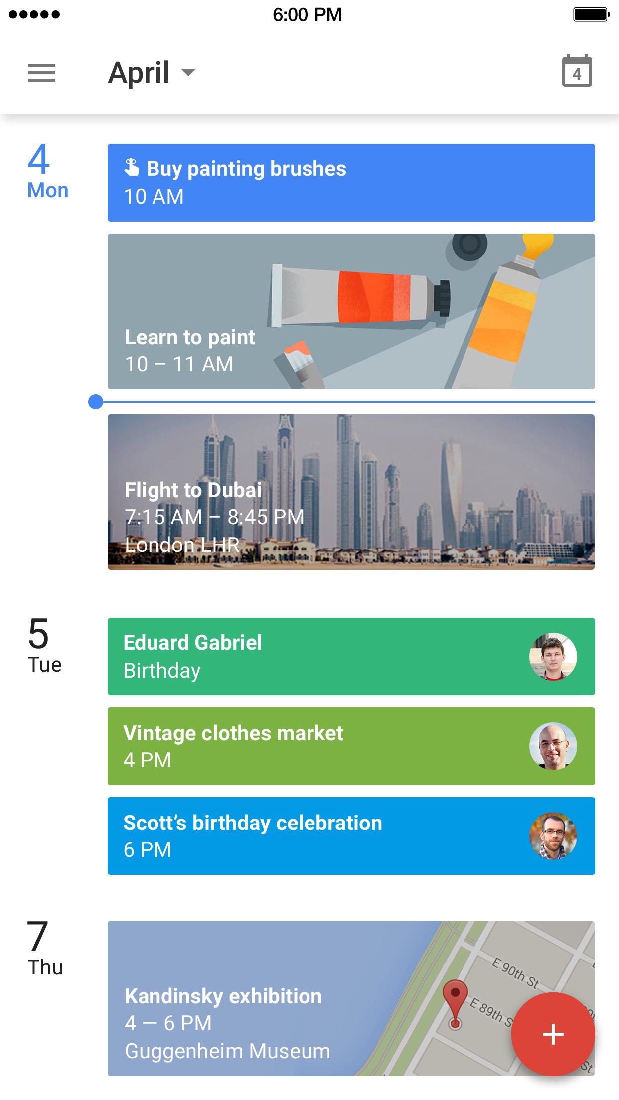 Google Calendar – Make the most of every day Screenshot