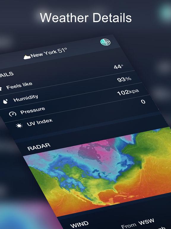 The Weather Radar - Weather Forecast & Alerts app IPA