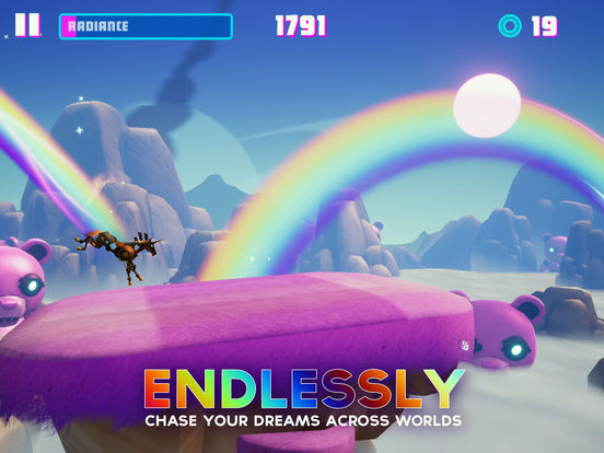 Robot Unicorn Attack 3 Screenshots
