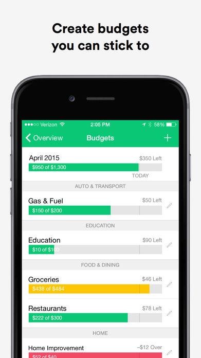 Mint: Money Manager, Budget & Personal Finance Screenshot