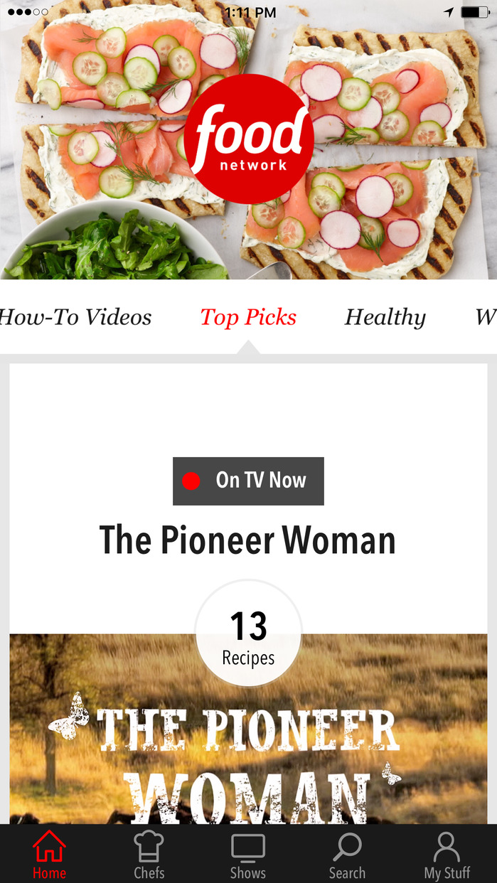 Food Network In the Kitchen Screenshot
