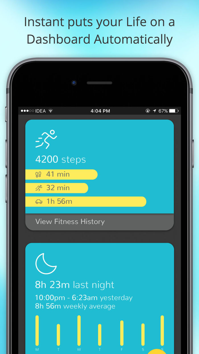 Instant - Lifelog | Place & Screen Time Tracker Screenshot