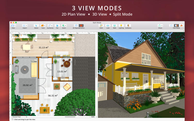 Live Home 3D for Mac