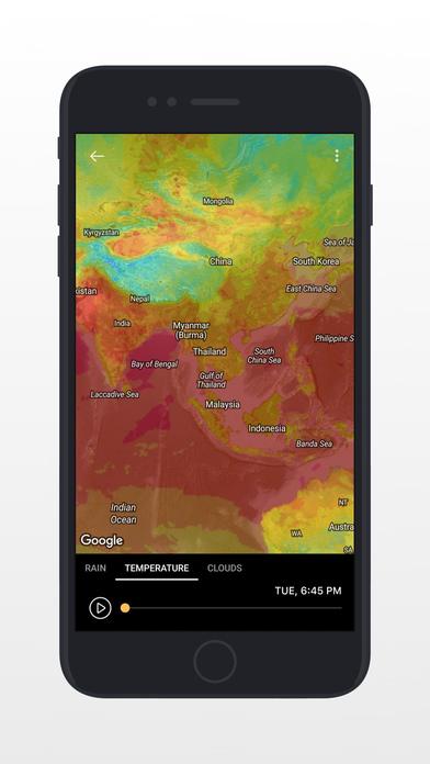 today weather forecast radar severe alert app report on mobile action. Black Bedroom Furniture Sets. Home Design Ideas