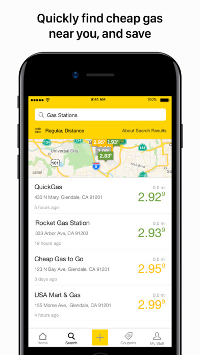 Cheapest Gas Station Near Me >> YP - The Real Yellow Pages App Download - Android APK