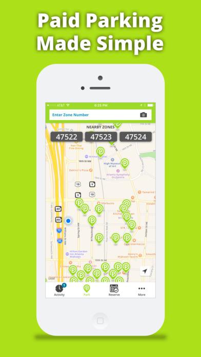 Parkmobile Screenshot