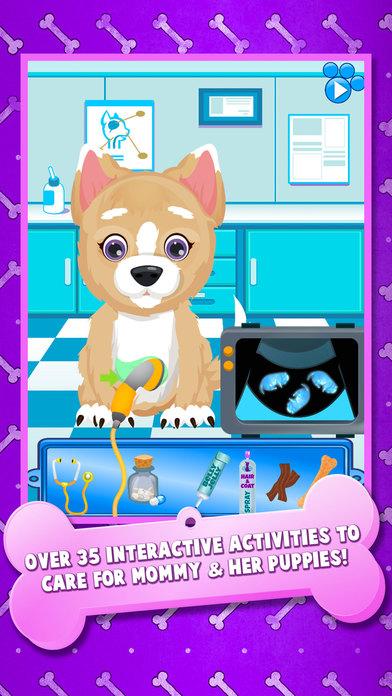 App Shopper Newborn Puppy Baby Amp Mommy Dog Pregnancy Pets