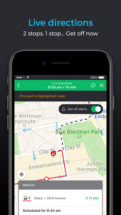 Moovit Live Transit App For Bus Train Amp Subway App