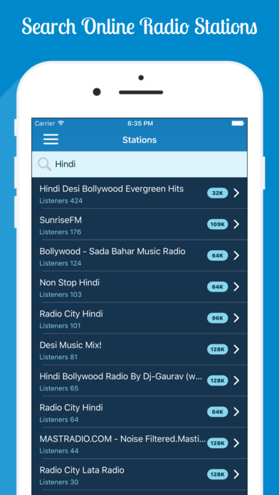 Local fm radio app for android without internet