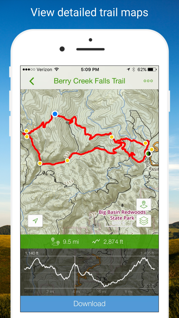 AllTrails - Hiking, Trail Running & Biking Trails Screenshot
