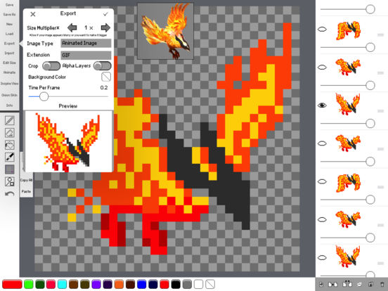 Sprite Creator - Pixel Art Maker IPA Cracked for iOS Free Download