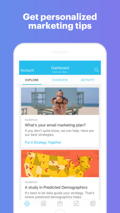 MailChimp - Email, Marketing Automation Screenshot