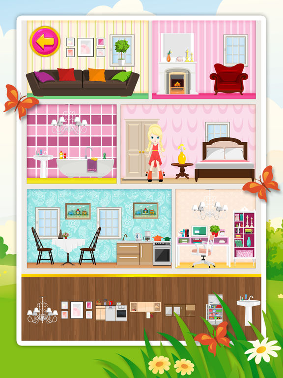 Doll House Decorating 2: Free Game For Children Review And