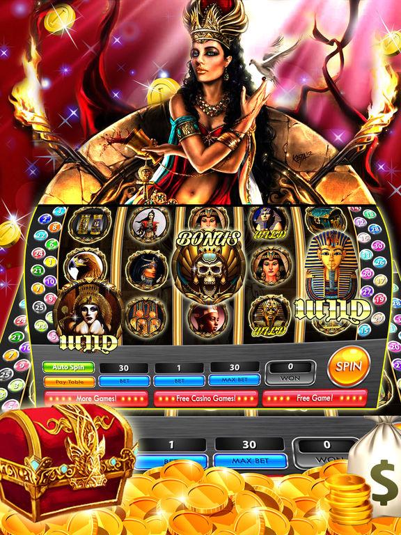 Treasures Of Egypt Slot Machine Game