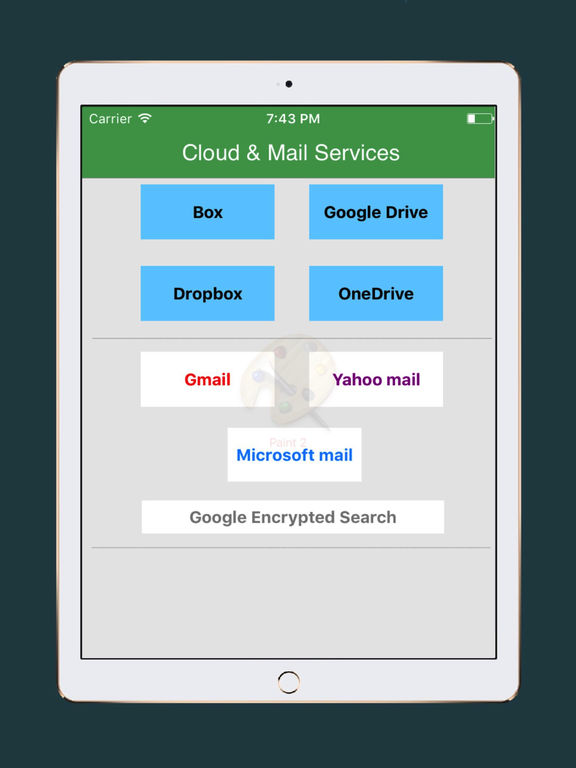 Mail For GoogleDrive,Dropbox,Box,Onedrive IPA