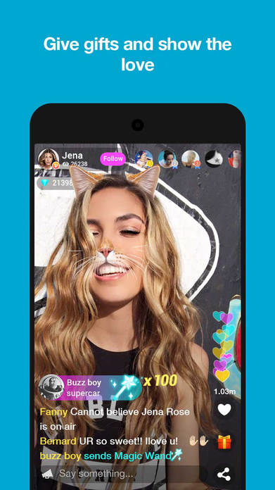 Live.me – Live Video Chat & Make Friends Nearby Screenshot