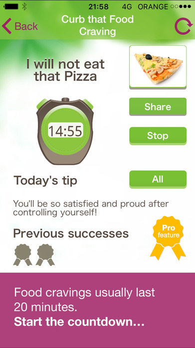 My Diet Coach Weight Loss Booster, Calorie Counter Screenshot