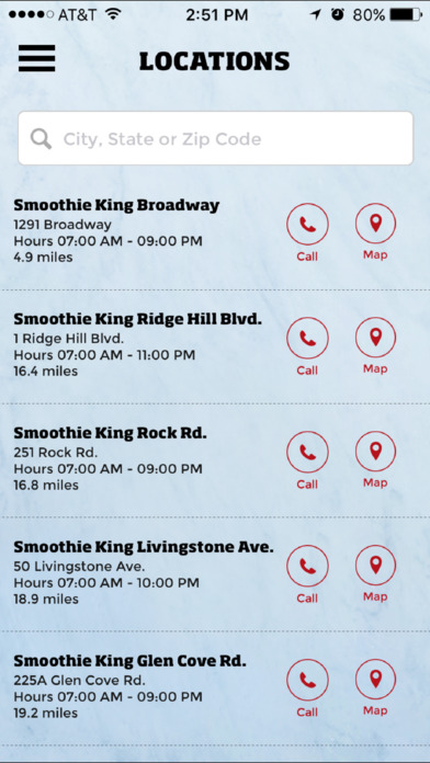Smoothie King Rewards Screenshot