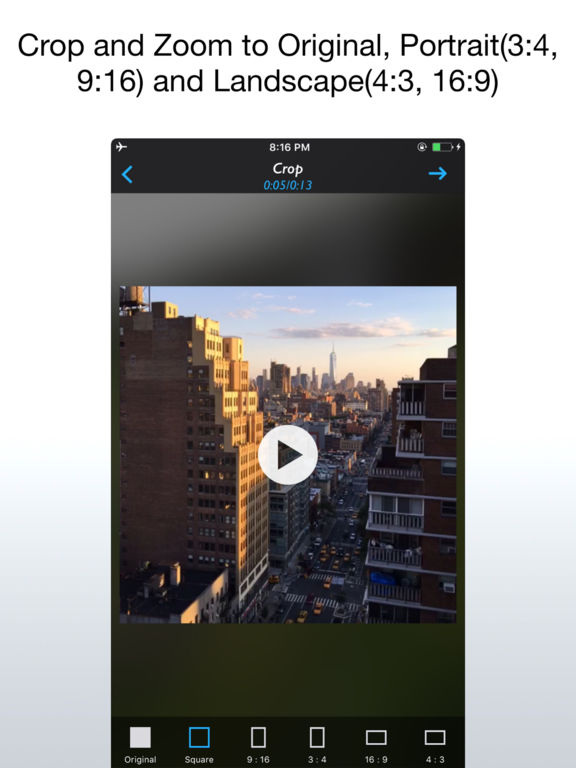 Live Crop for Live Photo, Video and GIF Screenshot