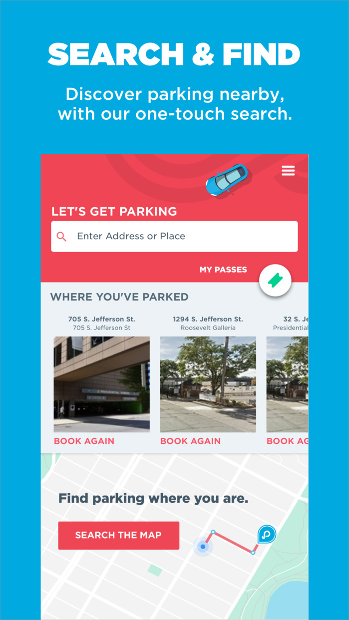 ParkWhiz: Book Parking Deals On The Go Screenshot