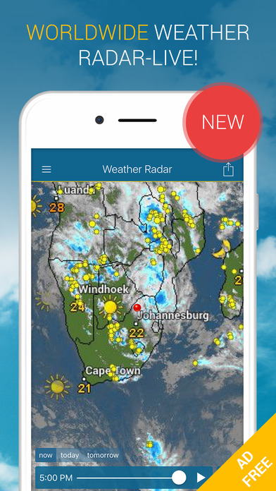 Weather Radar Pro AdFree IPA Cracked for iOS Free Download