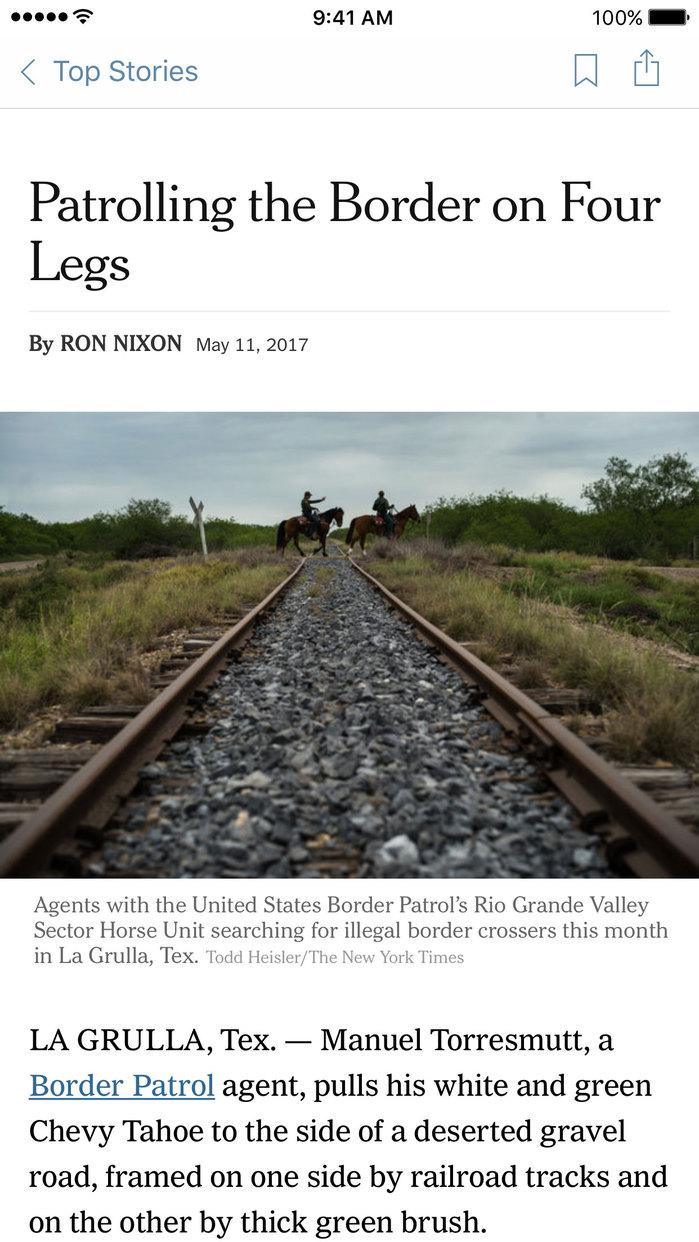 NYTimes – Breaking Politics, National & World News Screenshot