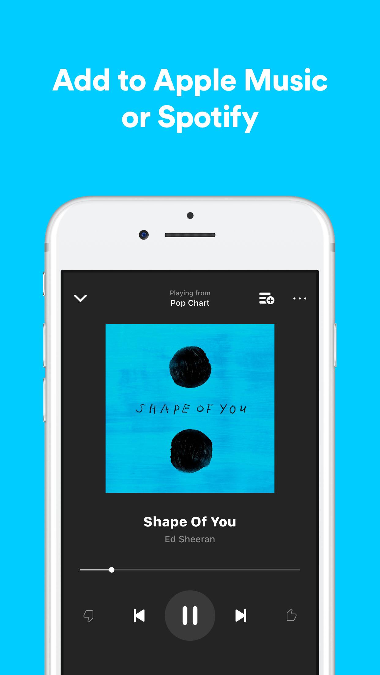 Shazam - Discover music, artists, videos & lyrics Screenshot