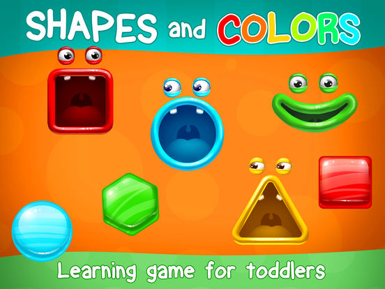 App Shopper: Learning Games For Toddlers Kids: Shapes