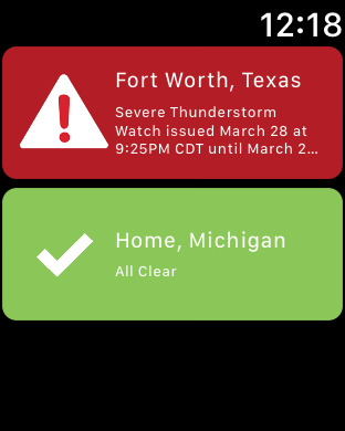 NOAA Weather Alerts & Hi-Def Radar Severe Push | App Price Drops