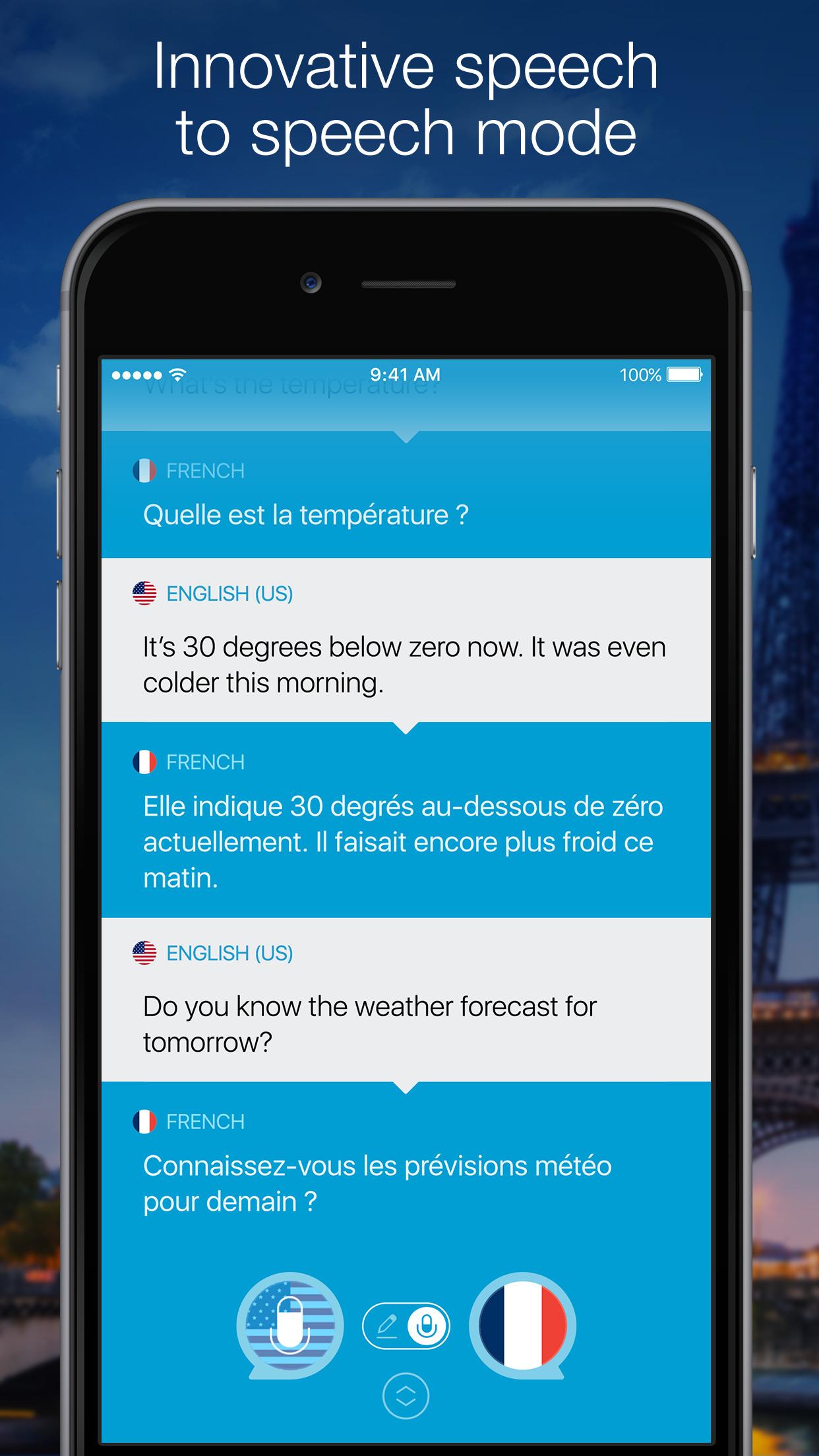 Speak & Translate - Voice and Text Translator Screenshot