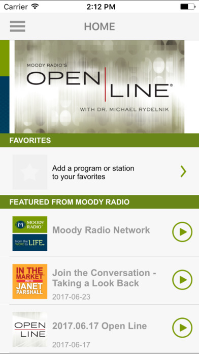 Moody Radio App For Iphone