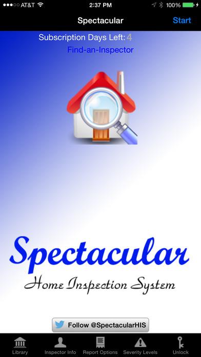 spectacular home inspection system on the app store. Black Bedroom Furniture Sets. Home Design Ideas