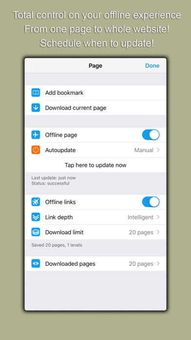 Oxygen Offline Browser IPA Cracked for iOS Free Download