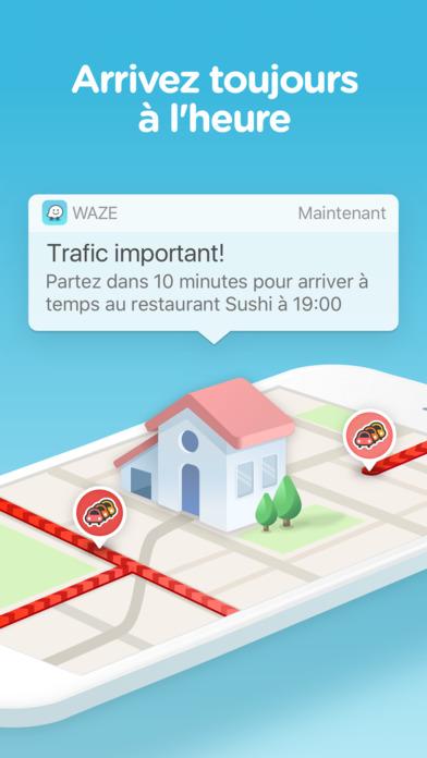waze gps et trafic en direct dans l app store. Black Bedroom Furniture Sets. Home Design Ideas