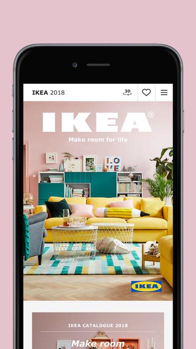 app shopper ikea catalog lifestyle. Black Bedroom Furniture Sets. Home Design Ideas
