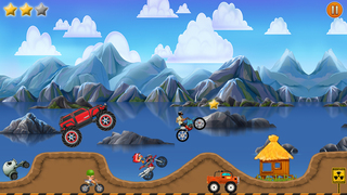 Super Monster Car Hill Road Driving : Real Heroes Racing Games !-2