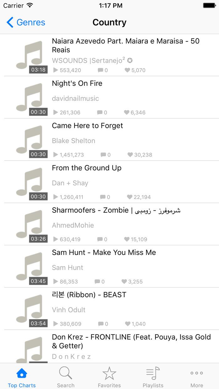 Free Music - MP3 Streamer & Playlist Manager Pro Screenshot