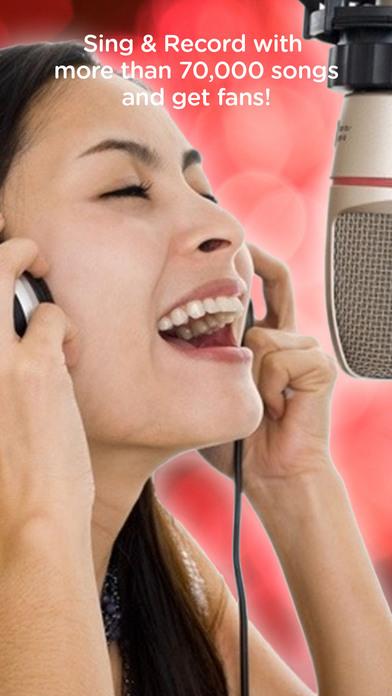Red Karaoke Sing & Record - appPicker