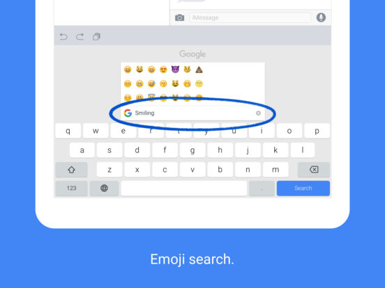 Gboard — Search. GIFs. Emojis & more. Right from your ...