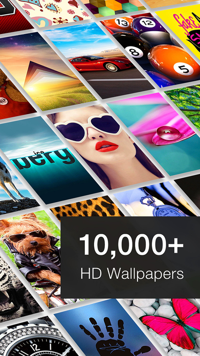 10000+ Wallpapers - HD Backgrounds Themes & Images Screenshot