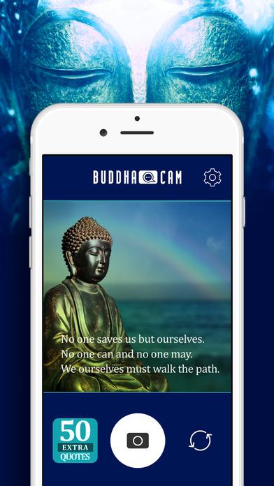 Buddha Cam Daily Yoga Meditation Quotes Photo Camera With Buddhism