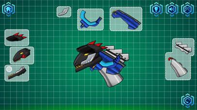 Tyrannosaurus Rex - Kids Robot Assemble Funny Games Screenshot on iOS