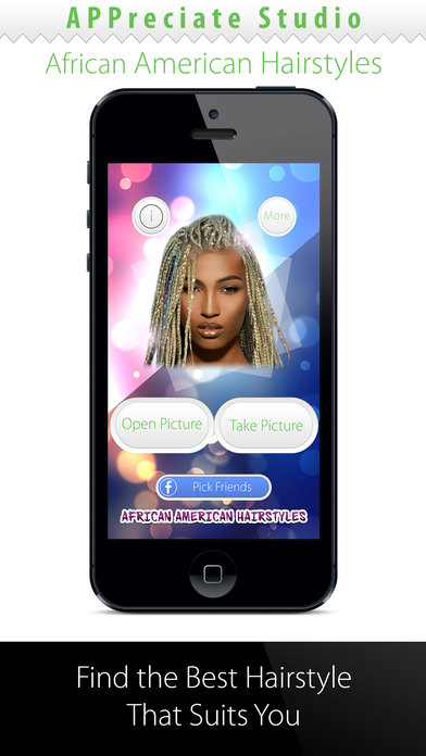 Pleasant African American Women Hairstyles Change Your Hair On The App Store Short Hairstyles Gunalazisus