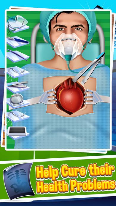 Soccer Surgery Doctor Salon - Kids Games Screenshot