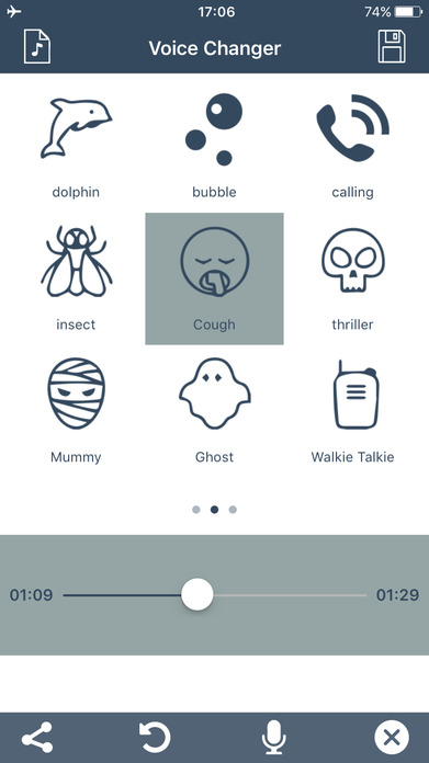 Voice Change.r Prank Call - Sound Effects Recorder Screenshot