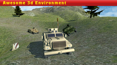 Off Road Army Jeep Race Pro Screenshot on iOS