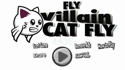 Fly Villain Cat Fly Screenshot on iOS